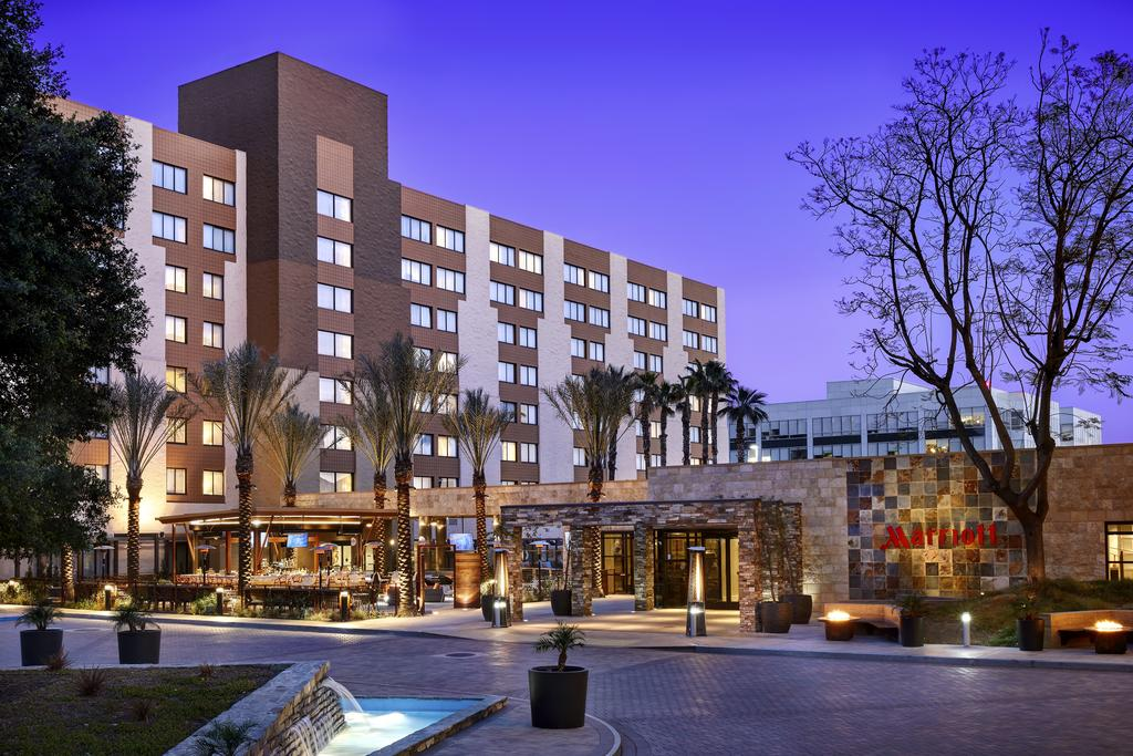 The Los Angeles Marriott Burbank Airport, one of the hotels in Burbank, CA.