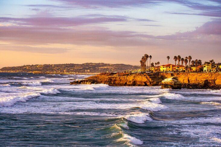 San Diego sunset.