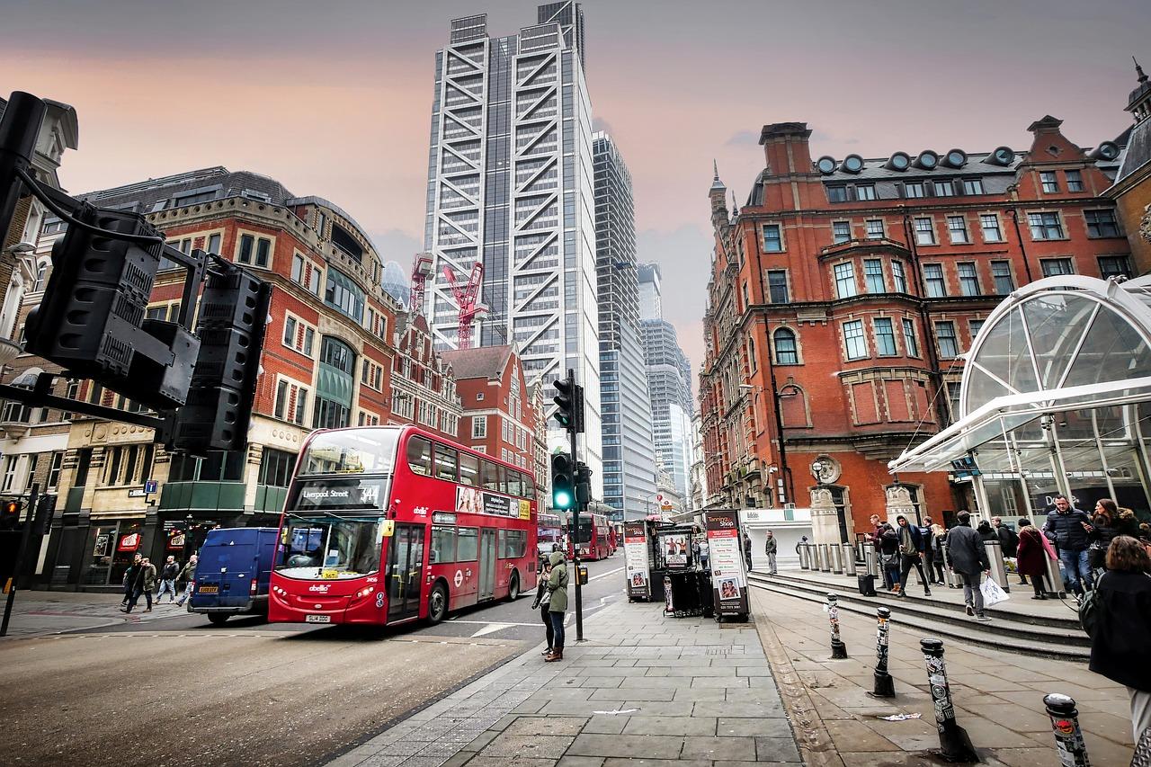 Liverpool Street in London