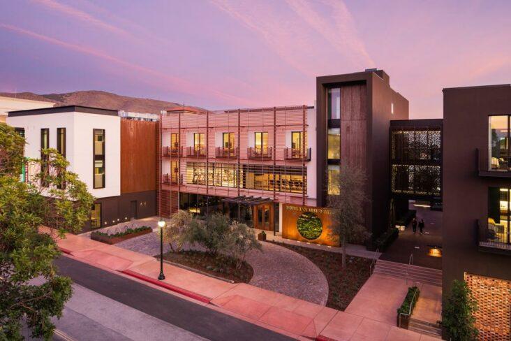 The Hotel San Luis Obispo.