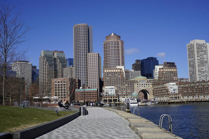 Boston cityscape.