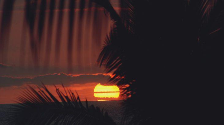 Kona sunset.