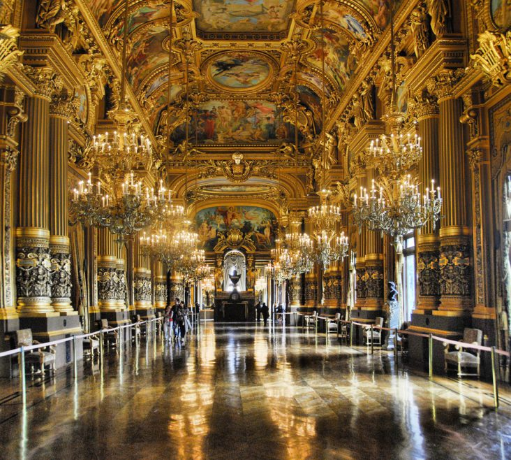 Paris Opera Grand Foyer