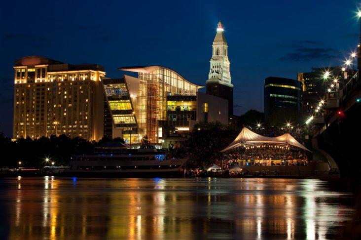 Hartford skyline.