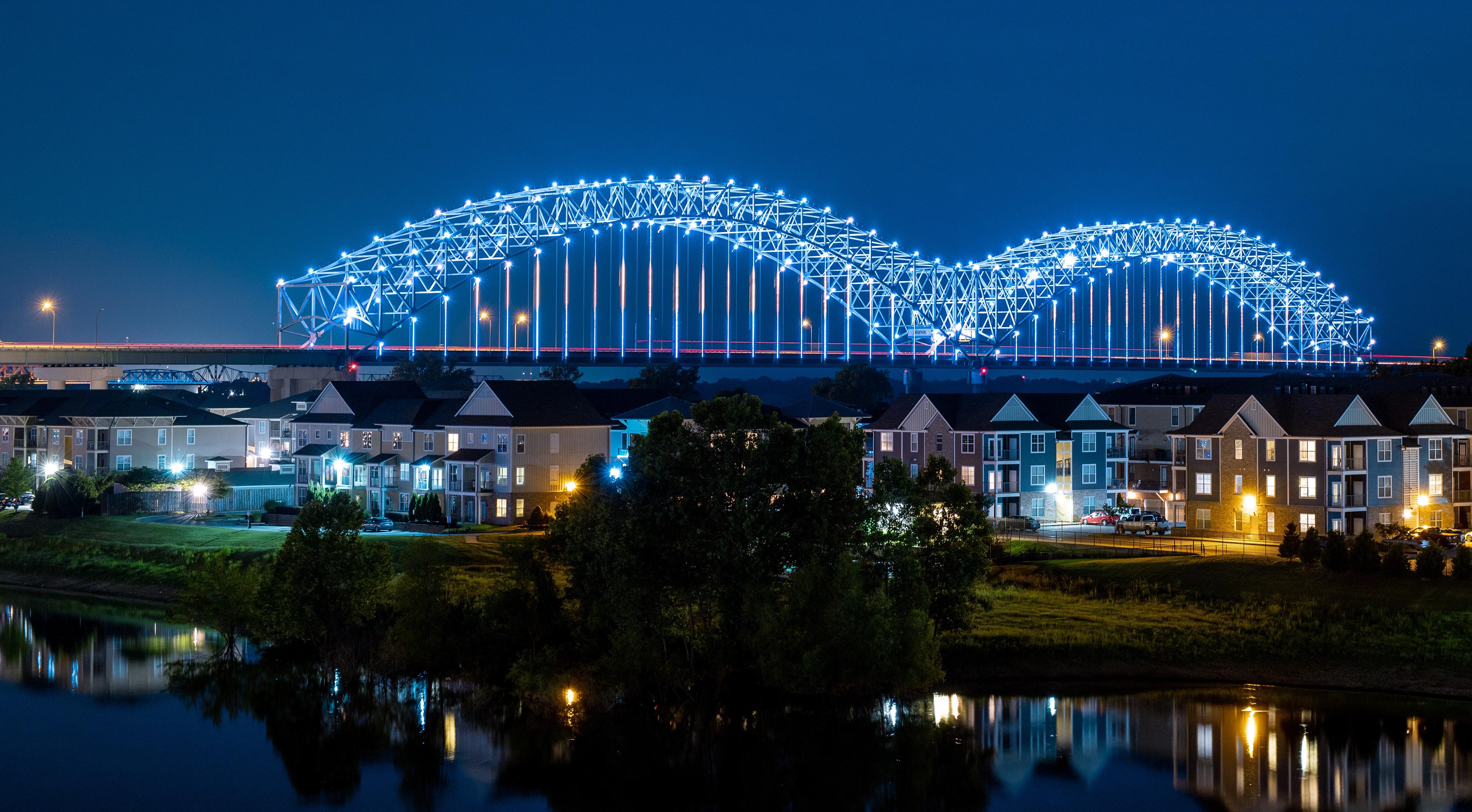 Hernando DeSoto Bridge in Memphis