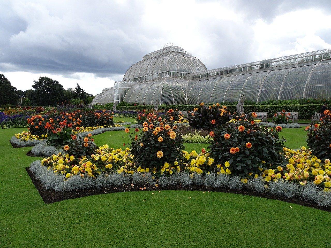 Kew Gardens in London, England.