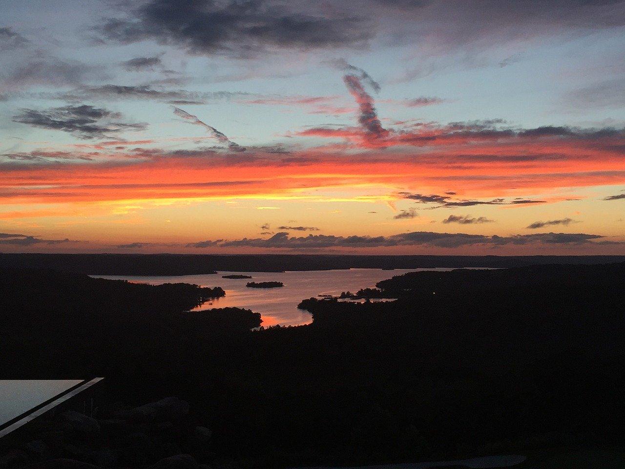 Branson, MO sunset