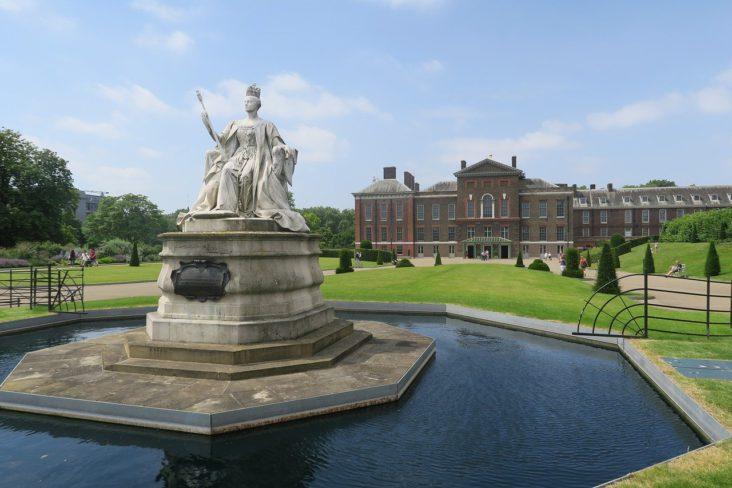 Kensington Palace & Gardens.