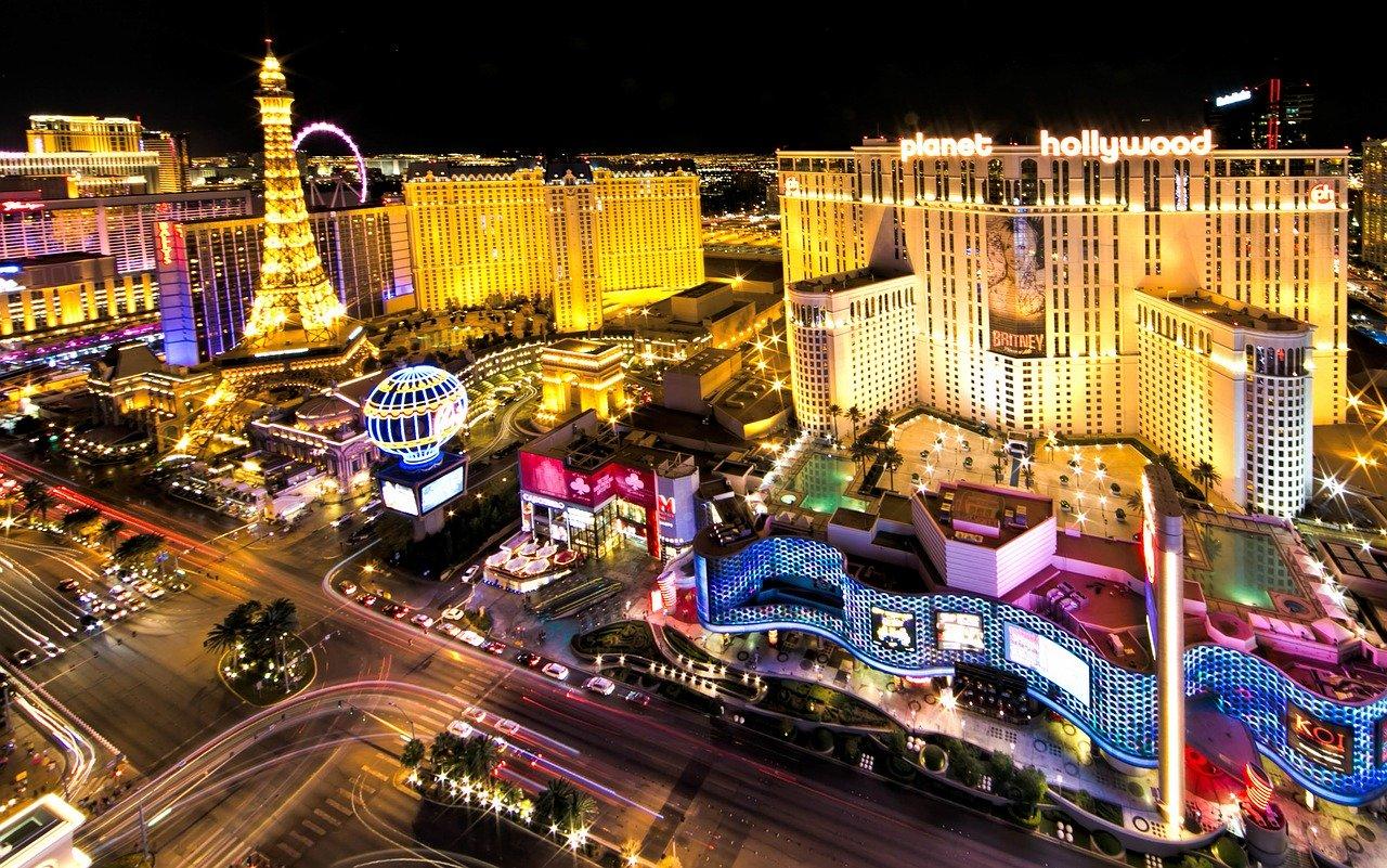 Las Vegas Strip. Las Vegas, NV