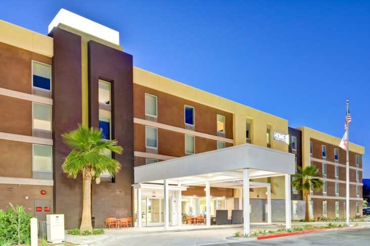 The Home2Suites Azusa, one of the hotels near Azusa Pacific University.