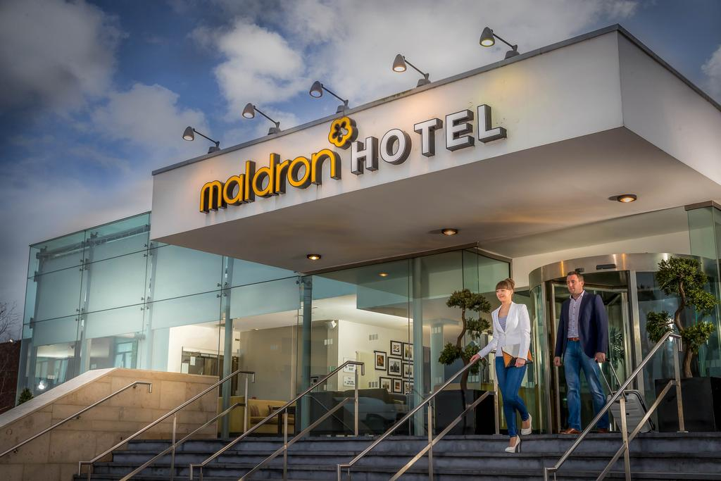 The Maldron Hotel Dublin Airport, one of a number of hotels near Dublin Airport.