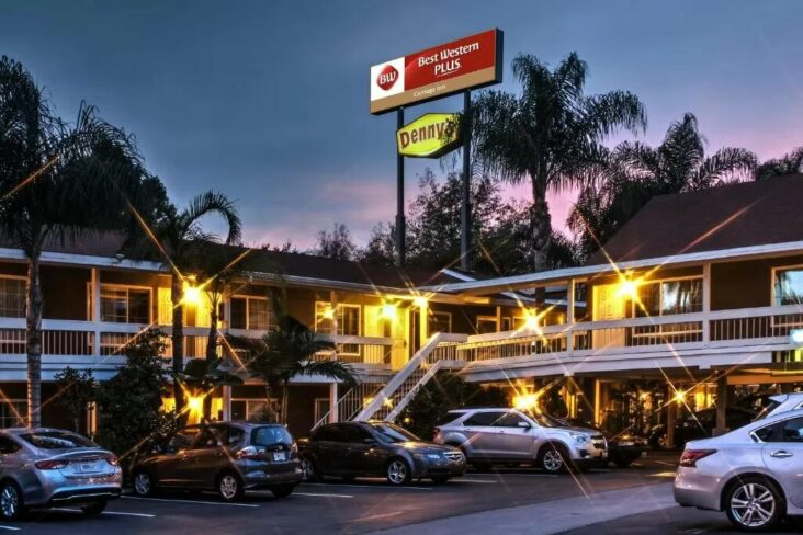 The Best Western Plus Carriage Inn, one of a number of hotels in Sherman Oaks, CA.