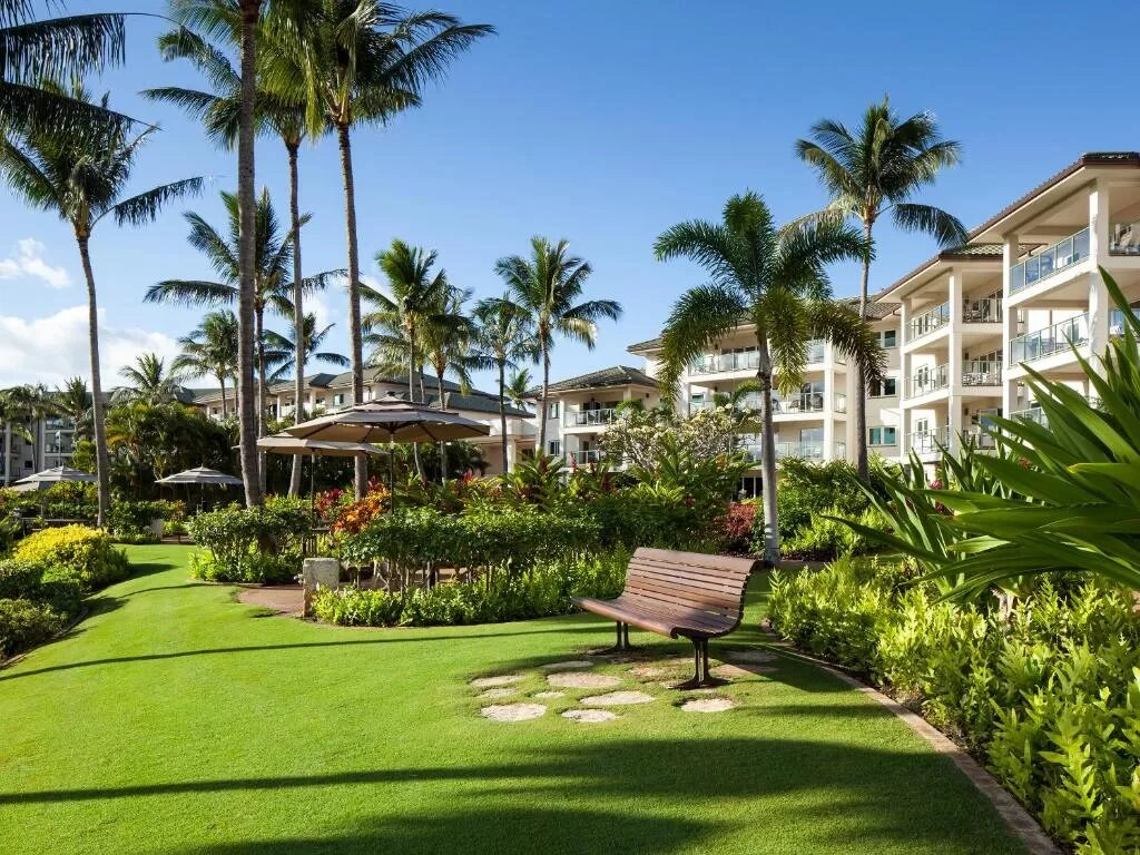 The Marriott Kauai Lagoons, one of the hotels near Lihue Airport.