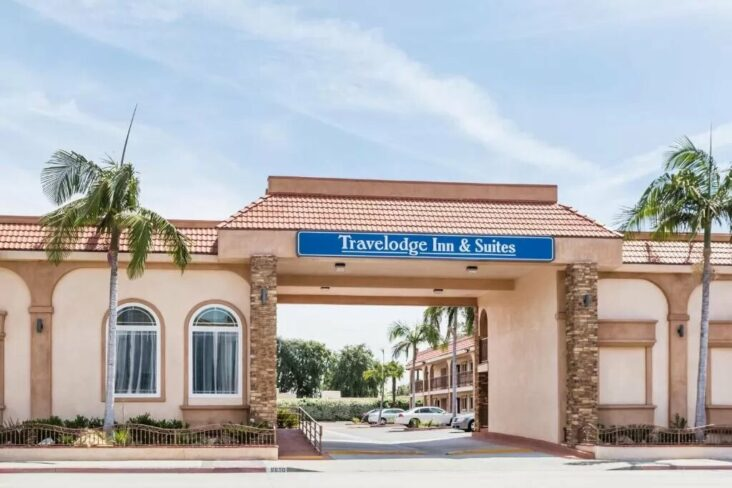 The Travelodge Inn & Suites by Wyndham Bell Los Angeles Area.