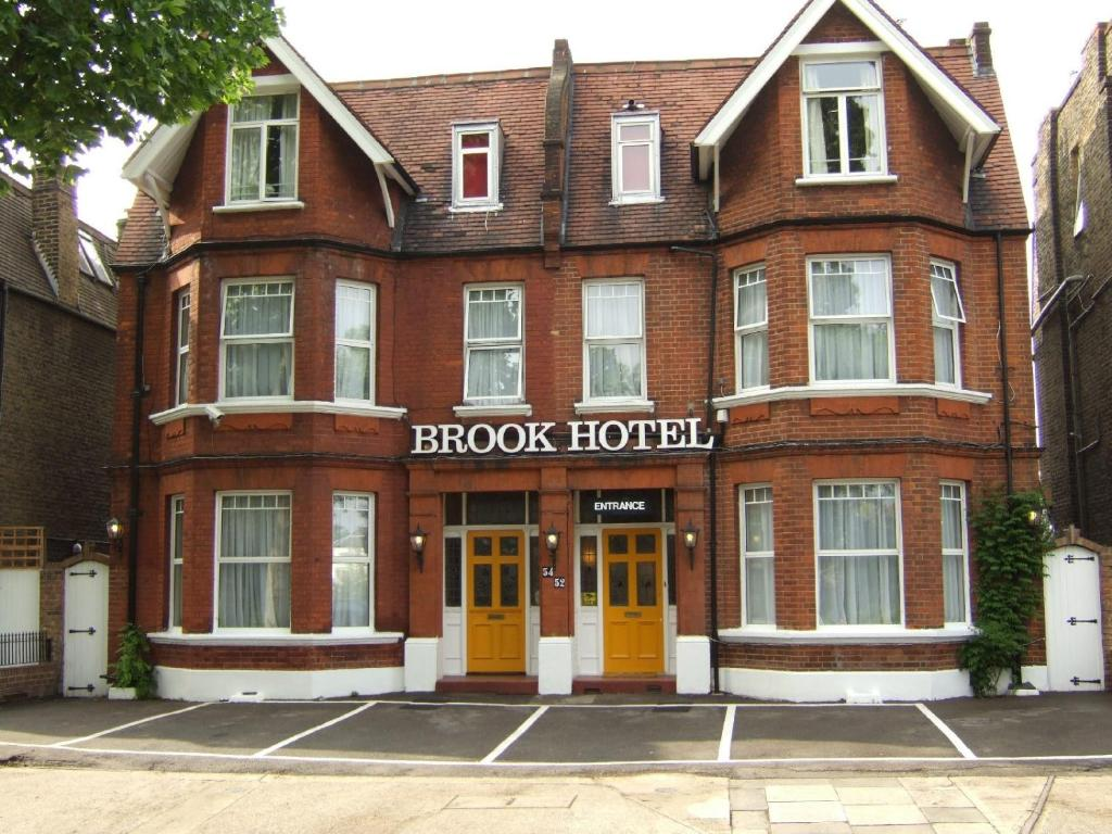 The Brook Hotel, one of the hotels near Turnham Green Station.
