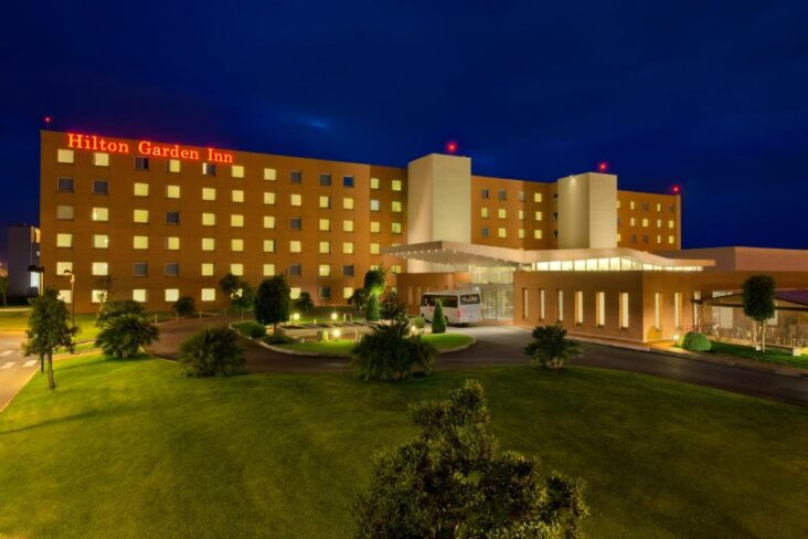The Hilton Garden Inn Rome Airport, one of the hotels near Rome Fiumicino Airport-