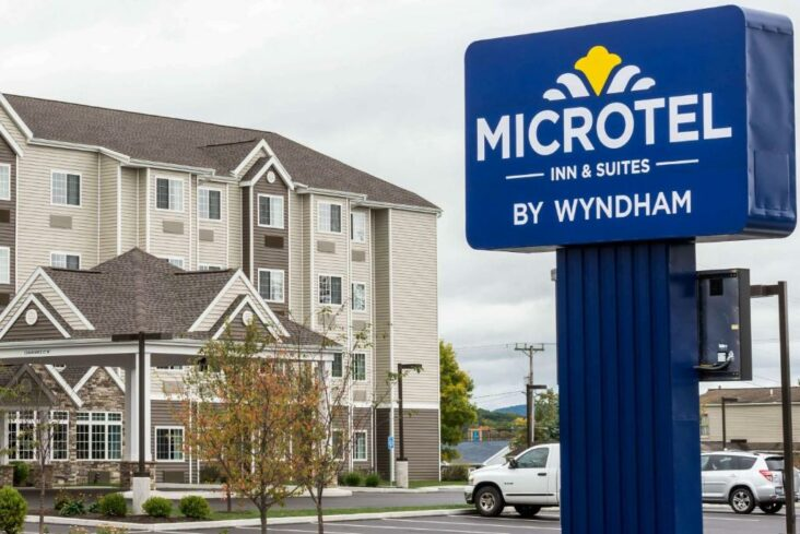 The Microtel Inn & Suites by Wyndham Altoona, one of the hotels in Altoona, PA.