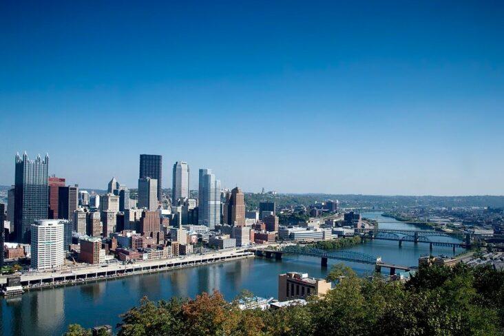 The Pittsburgh Skyline.