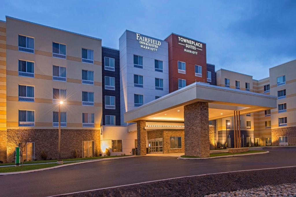 The TownePlace Suites by Marriott Altoona, one of the hotels near Altoona Station.