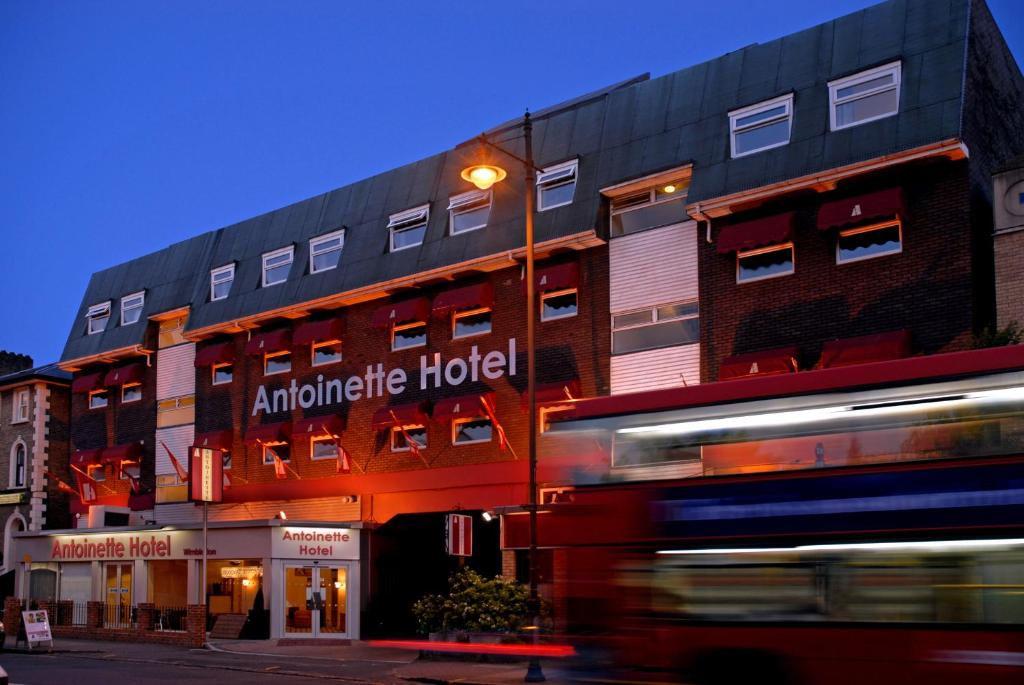 The Antoinette Hotel Wimbledon, one of the hotels near Wimbledon Park Station in London, England.