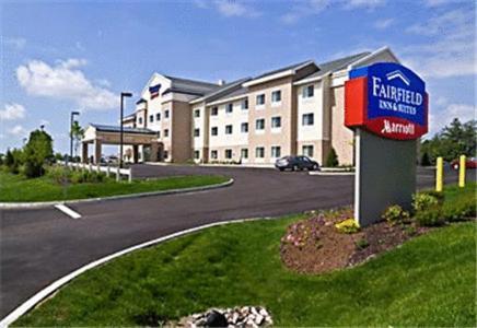 The Fairfield Inn & Suites by Marriott Augusta, one of the hotels near UM Augusta.