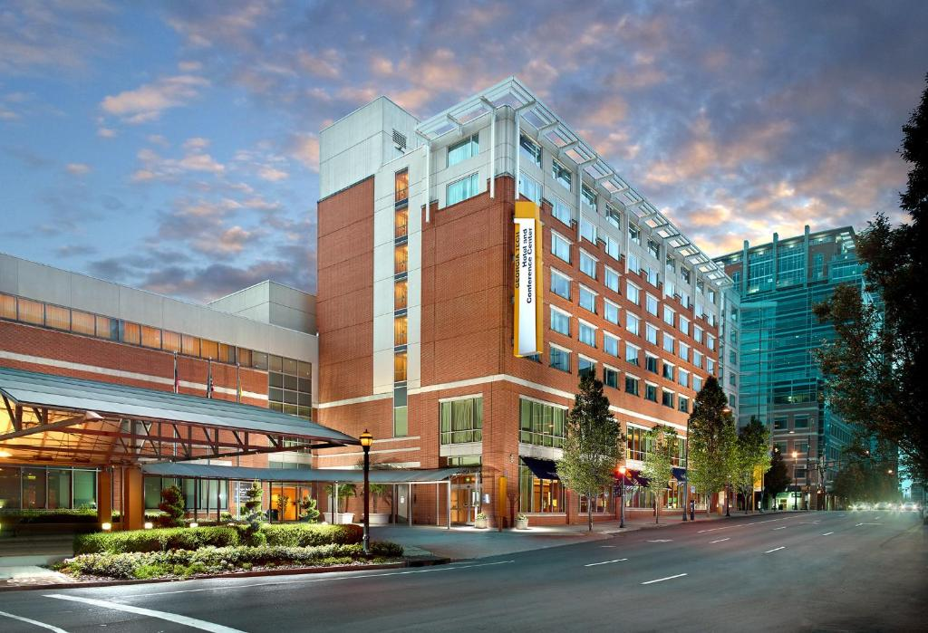 The Georgia Tech Hotel & Conference Center, one of the hotels near Georgia Tech in Atlanta.