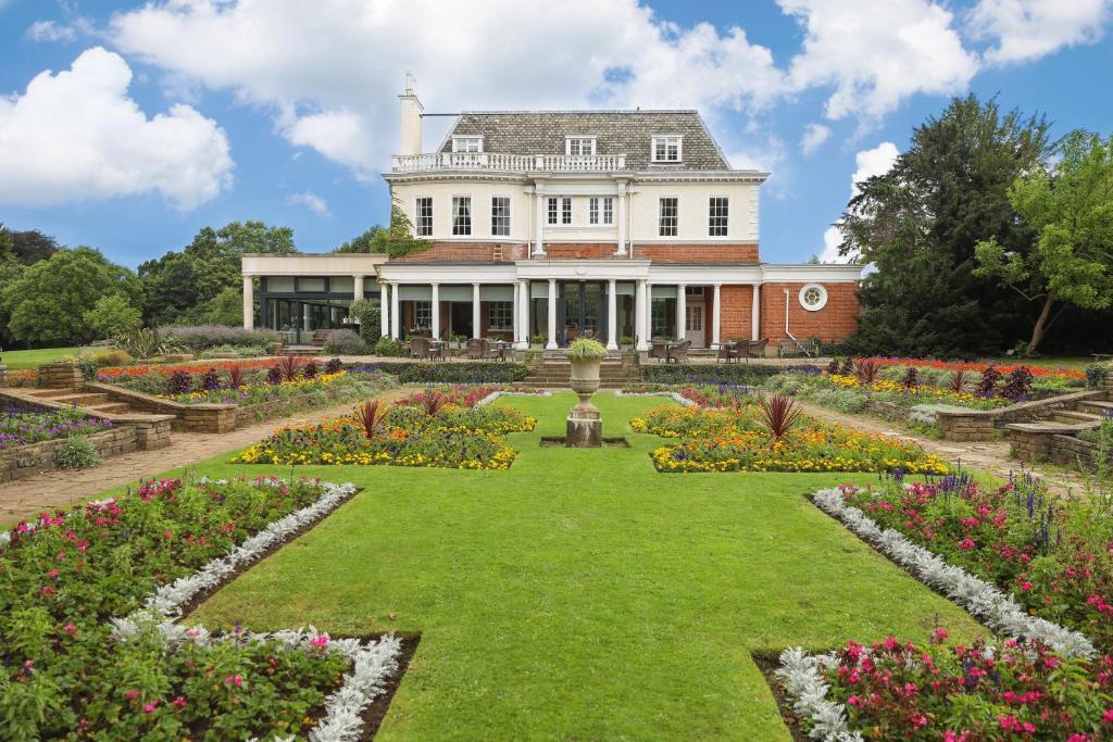 The Hotel du Vin Cannizaro House Wimbledon, one of the hotels near Wimbledon Station in London, England.