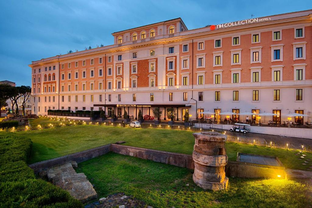 The NH Collection Palazzo Cinquecento, one of the hotels near Roma Termini station.