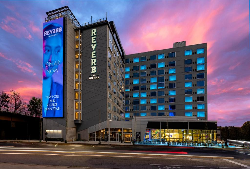 The Reverb by Hard Rock Atlanta Downtown, one of the hotels near Mercedes-Benz Stadium.