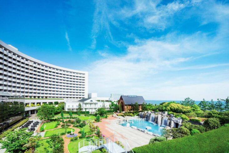 The Sheraton Grande Tokyo Bay Hotel, one of the hotels near Tokyo Disneyland.