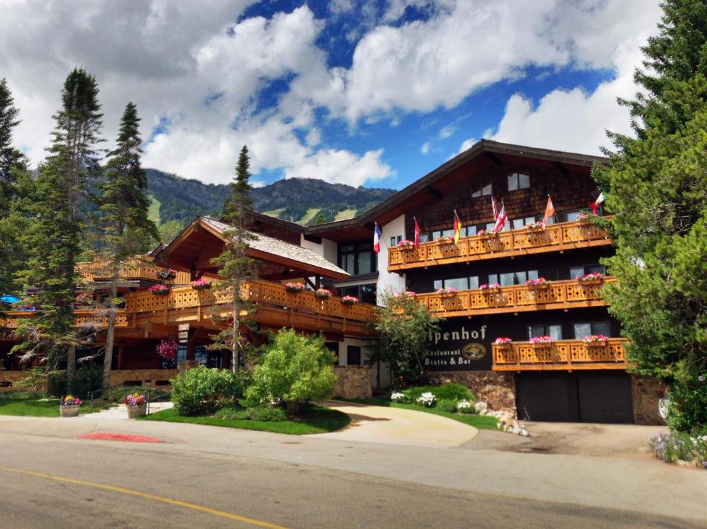 The Alpenhof, one of the hotels near Jackson Hole Airport.