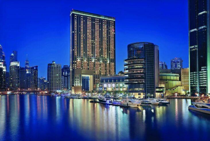 The Address Dubai Marina, one of the hotels near Dubai Marina Mall.