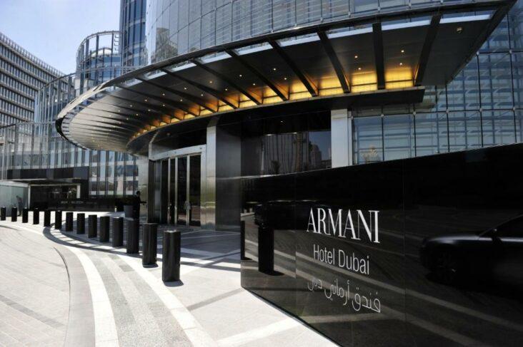 The Armani Hotel Dubai, one of the hotels near Dubai Mall & Burj Khalifa.