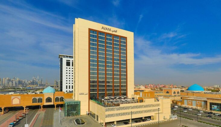 The Avani Ibn Battuta Dubai Hotel, one of the hotels in Discovery Gardens.