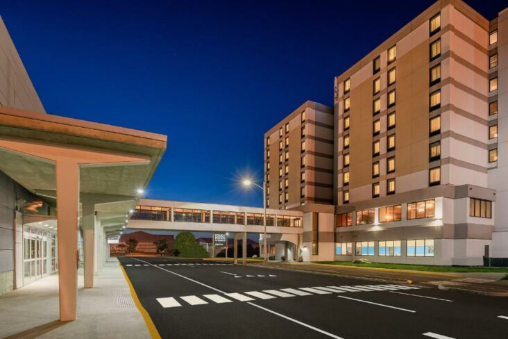 The Four Points by Sheraton Bangor, one of the hotels near Bangor Airport.