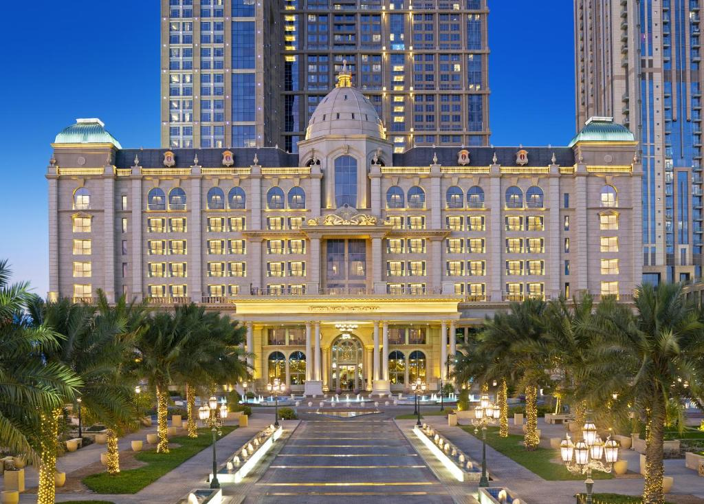The Habtoor Palace Dubai, one of the hotels in Business Bay.