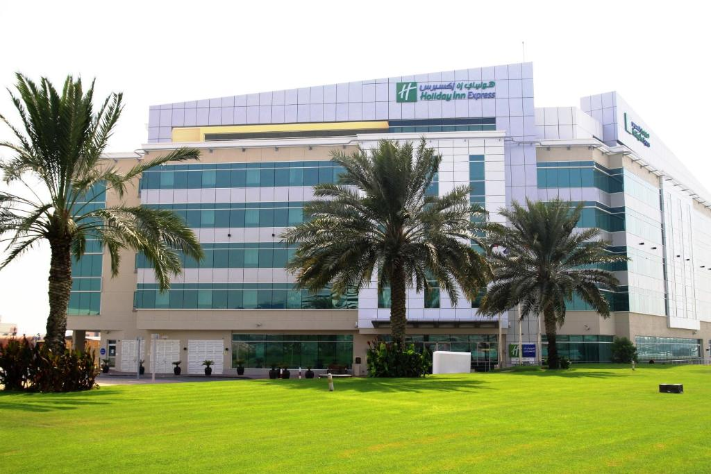 The Holiday Inn Express Dubai Airport, one of the hotels near Dubai Airport in the UAE.