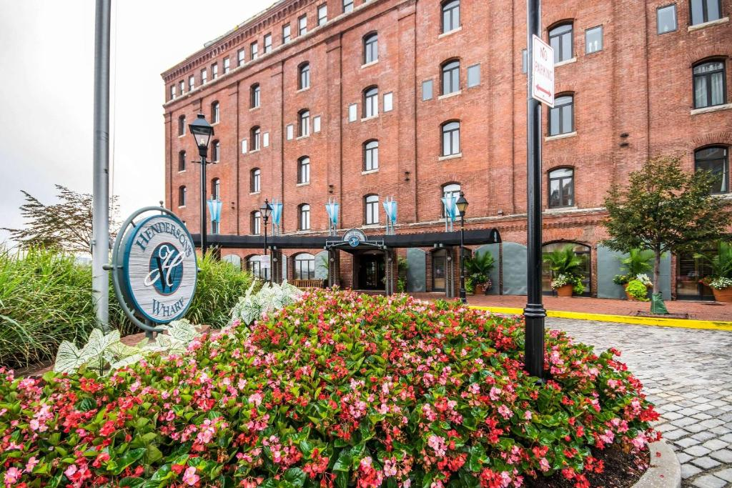 The Inn at Henderson's Wharf, one of the hotels near Fort McHenry in Baltimore.