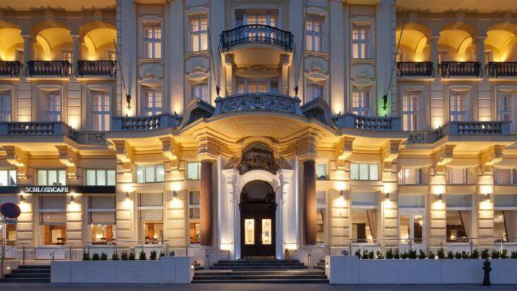 The Austria Trend Parkhotel Schönbrunn Wien, one of many hotels in Vienna, Austria.