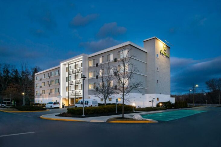 The Element Lexington, one of the hotels near Hanscom Field in Bedford, MA.