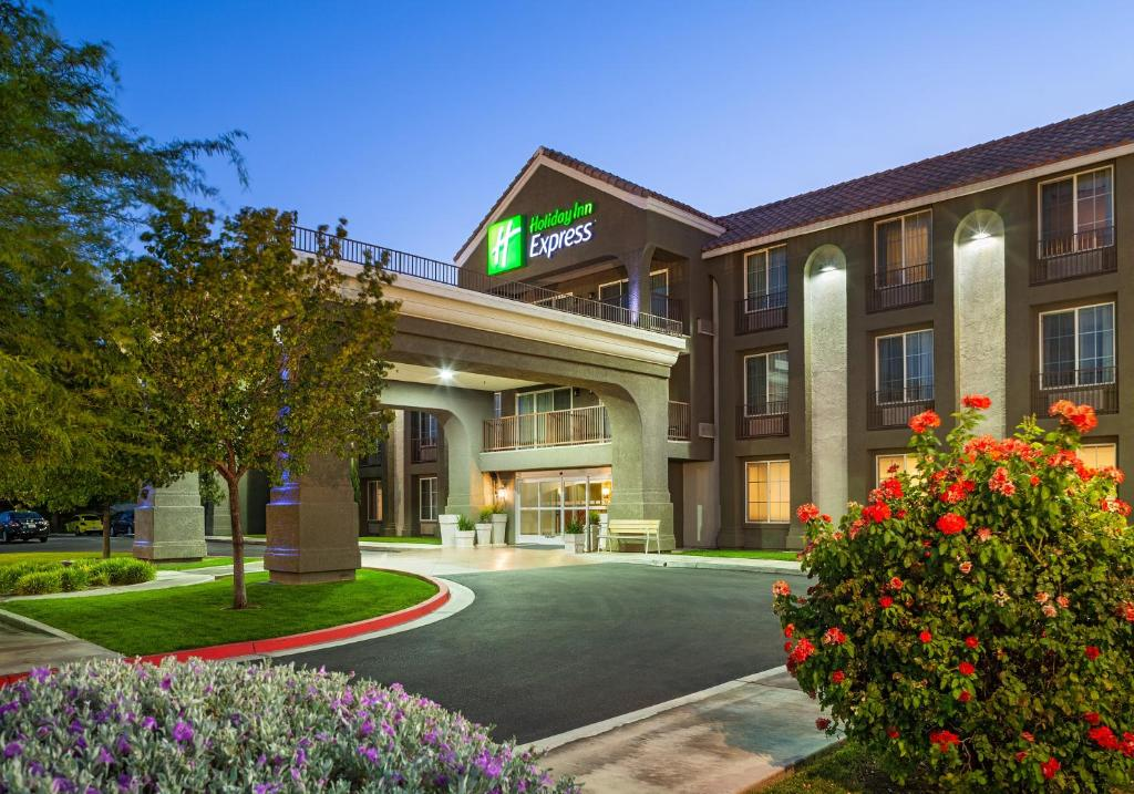The Holiday Inn Express Lancaster, one of the hotels in Lancaster, California.