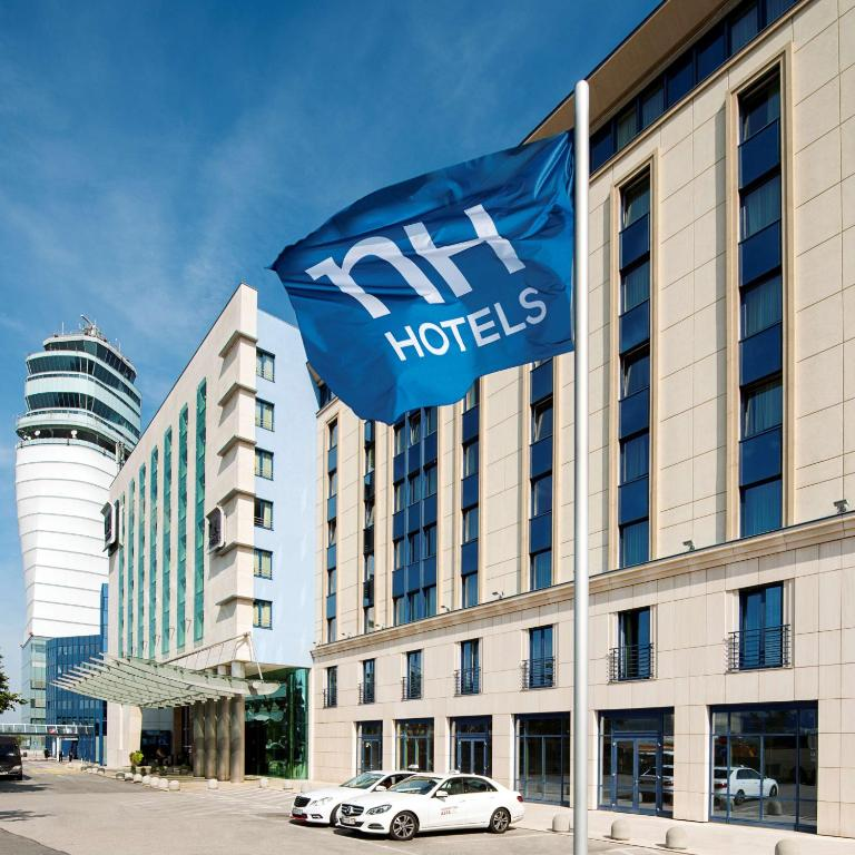 The NH Vienna Airport Conference Center, one of the hotels near Vienna Airport in Austria.