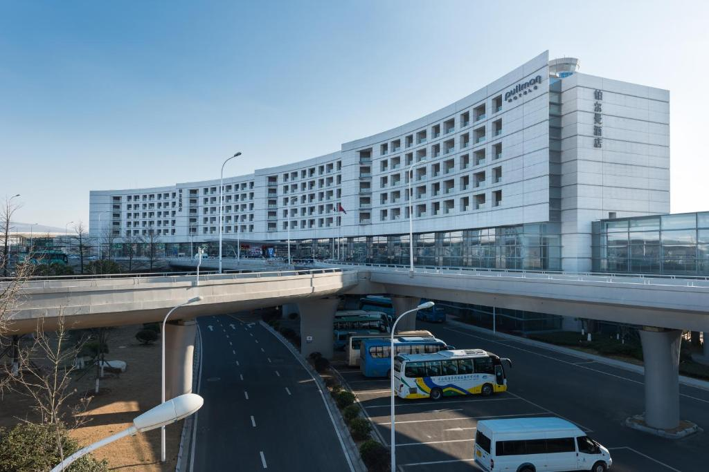 The Pullman Nanjing Lukou Airport, one of the hotels near Nanjing Airport in China.