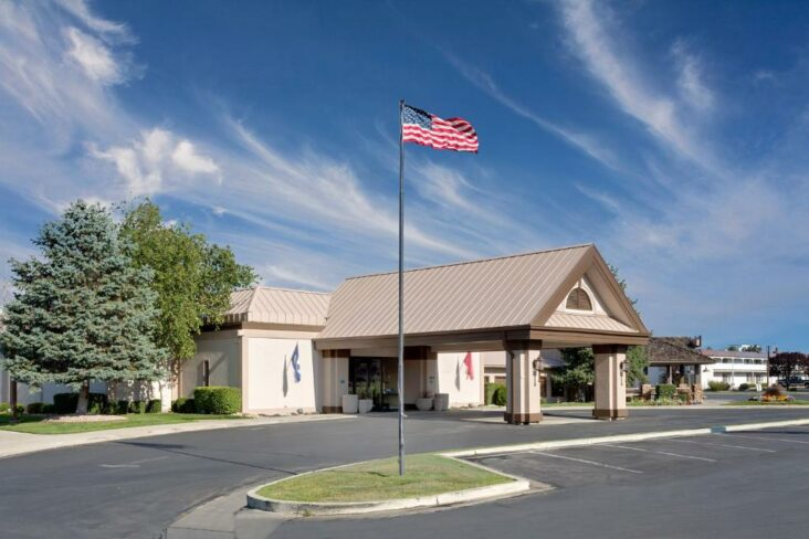 The Ramada by Wyndham Provo, one of the hotels near Provo Airport in Utah.