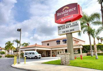 The Residence Inn La Mirada Buena Park, one of the hotels in La Mirada, CA.
