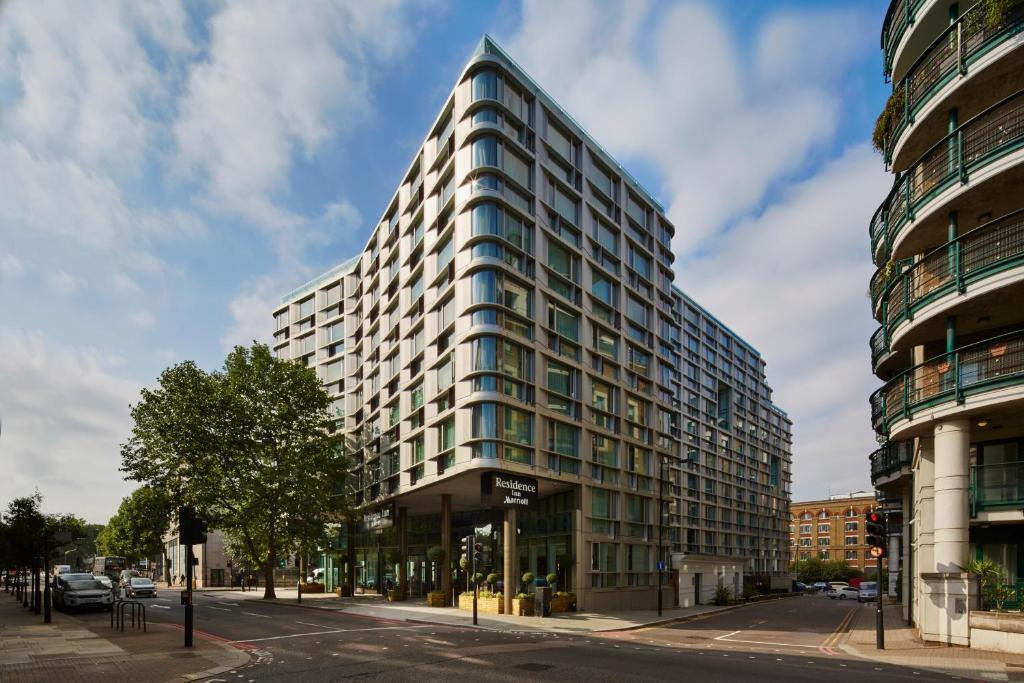 The Residence Inn by Marriott London Kensington, one of the hotels near West Kensington Station.