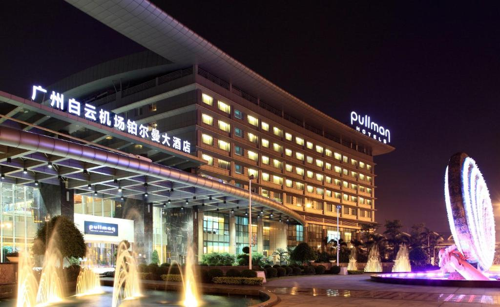 The Pullman Guangzhou Baiyun Airport, one of the hotels near Guangzhou Airport in China.
