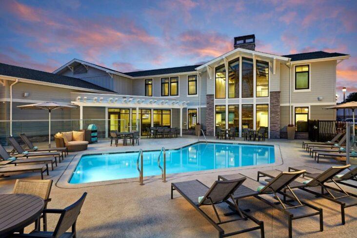 The Residence Inn Los Angeles LAX Manhattan Beach, one of the hotels in Manhattan Beach, California.
