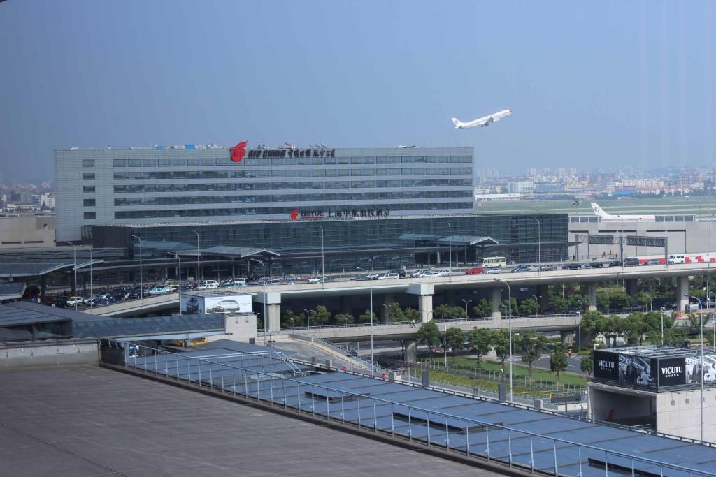 The Shanghai Hongqiao Airport Hotel in China.