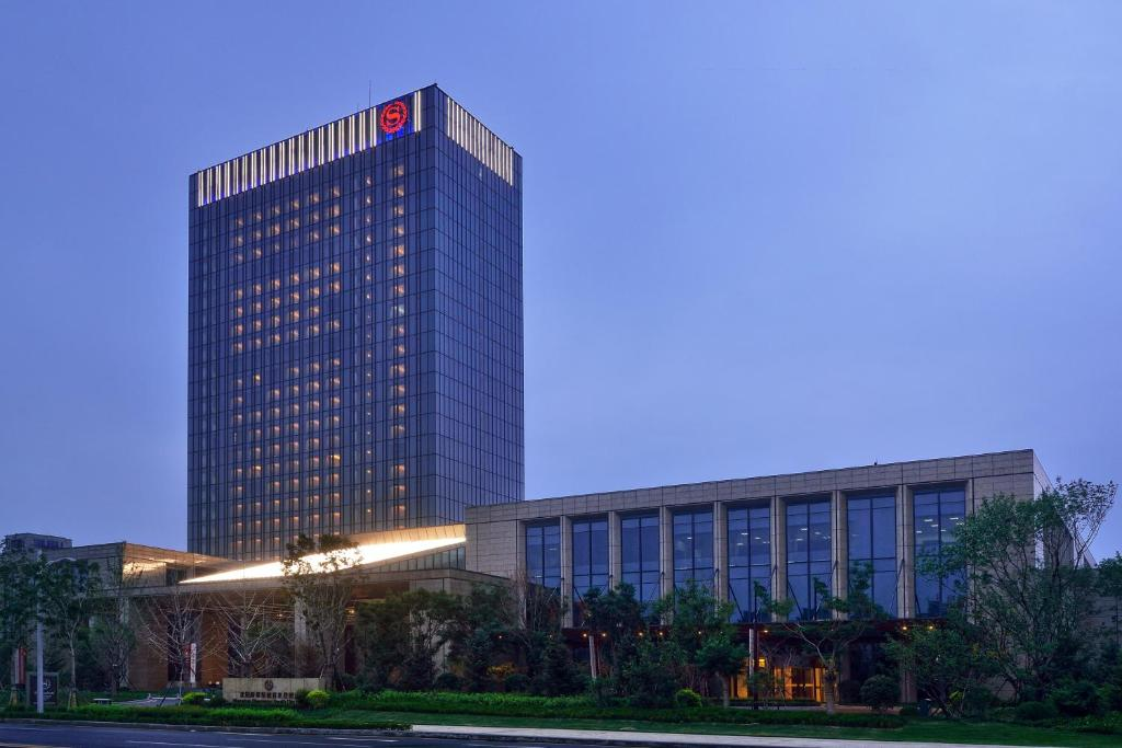 The Sheraton Shenyang South City Hotel, one of the hotels near Shenyang Airport in China.